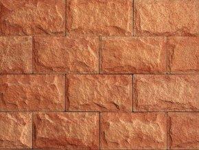 Betonový obklad VASPO Pískovec ver.4 cihlový