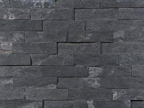 Přírodní kámen WALLSTONE N3003 Black Slate lepený