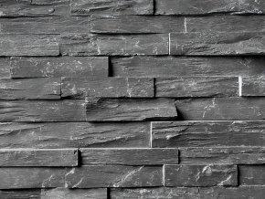 Přírodní kámen WALLSTONE N 3003 Black Slate – Rustikal