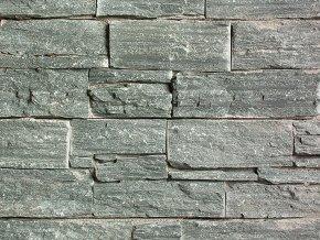 Přírodní kámen WALLSTONE Q006 Quartzite Green na síťce