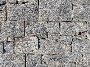 Přírodní kámen WALLSTONE G695 Granite Grey na síťce