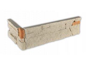 Betonový roh VASPO Kámen lámaný béžový