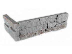 Betonový roh VASPO Kámen lámaný šedý