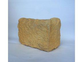 Kamenný roh WILDSTONE Štípaný pískovec Colia