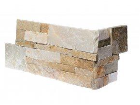 Kamenný roh WALLSTONE Q010 Golden Quarzite