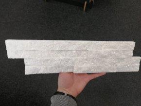 Kamenný obklad VIPSTONE Kvarcit bělavý