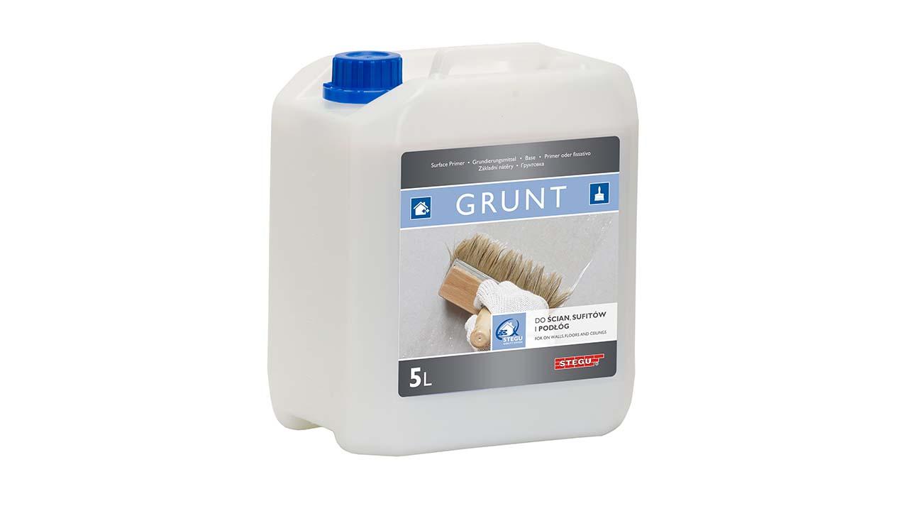 Penetrace Stegu Grunt 5kg cena za balení