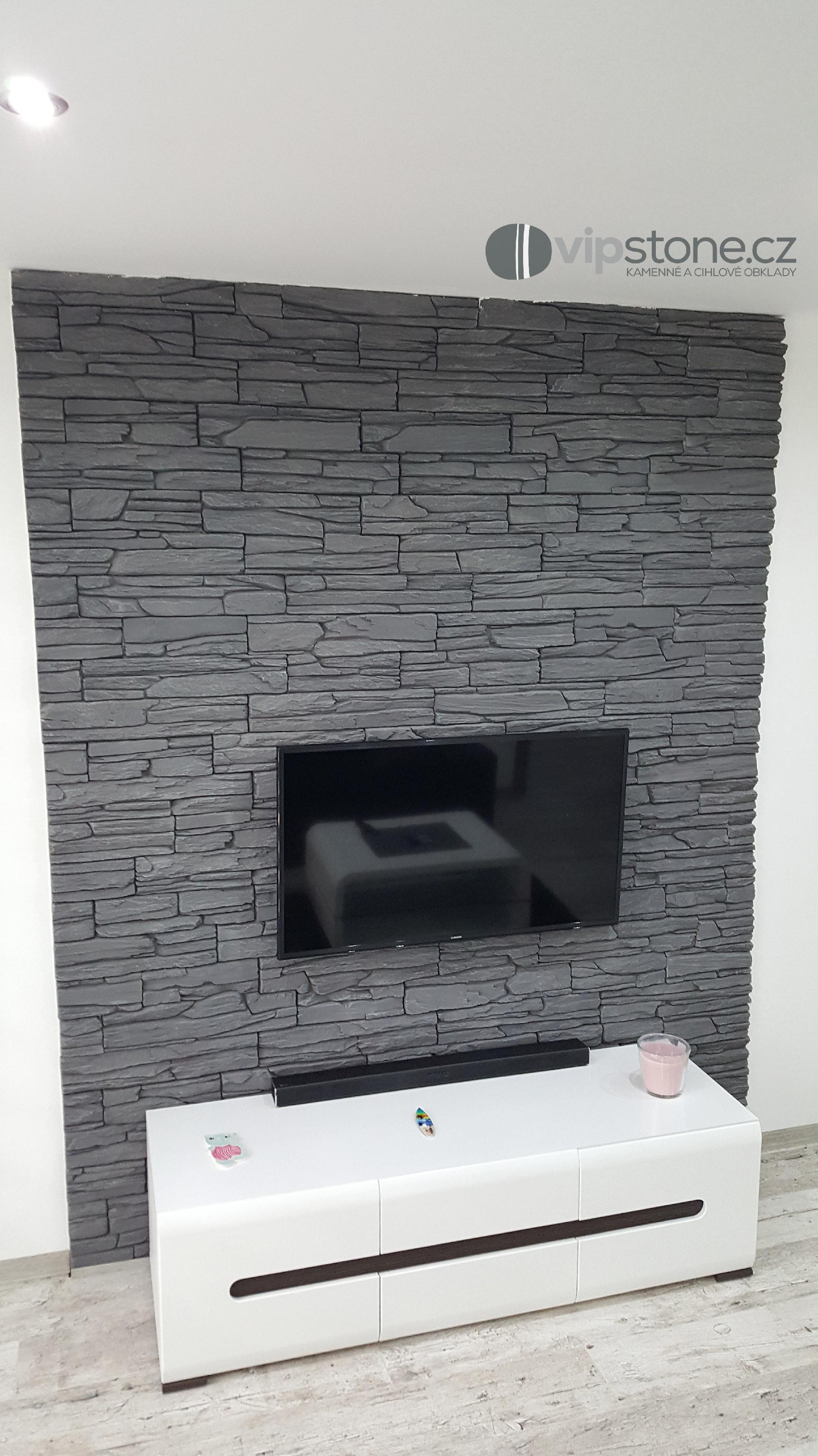 Betonový obklad MAGICRETE Břidlice Shale šedý 50x20cm