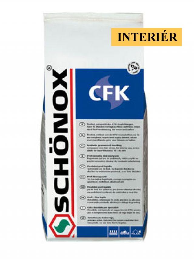Lepidlo Interiérové SCHÖNOX CFK - 25 kg cena za balení