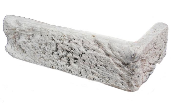 MAGICRETE CIHLA HANDBRICK BÍLÁ 0015 - rohový prvek cena za balení
