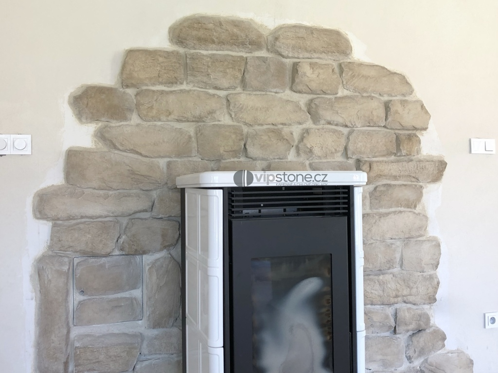 Kamenný obklad WILDSTONE Limestone Champagne 50x27cm