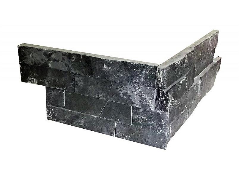 KAMENNÝ ROH WALLSTONE N3003 BLACK SLATE cena za balení