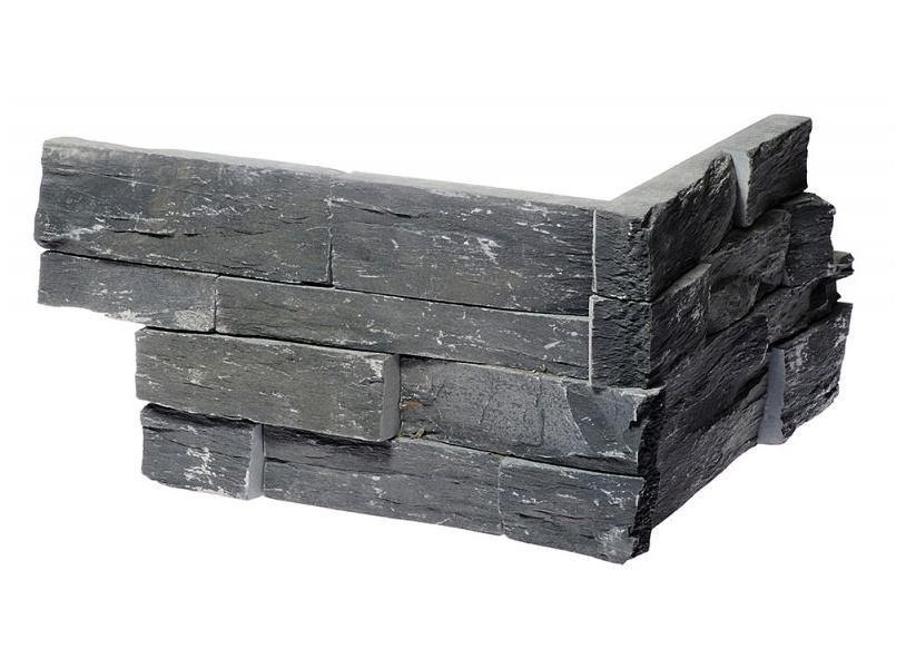 KAMENNÝ ROH WALLSTONE N 3003 BLACK SLATE RUSTIKAL cena za balení