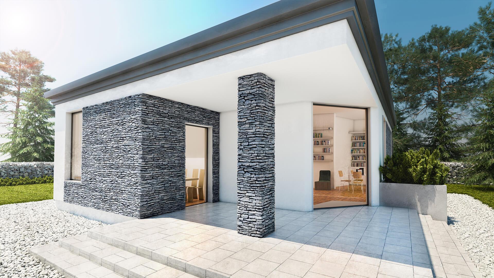 Betonový obklad STEGU California grey 55x15cm