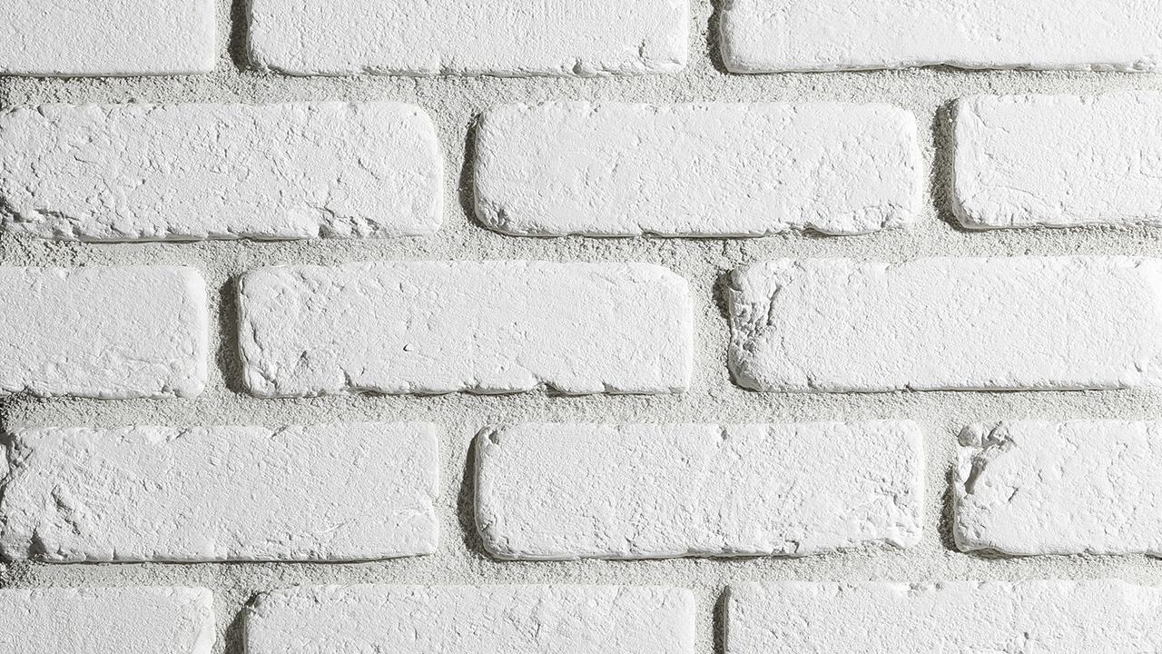 Sádrový obklad STEGU LOFT 1 - white 20,6x6,3cm