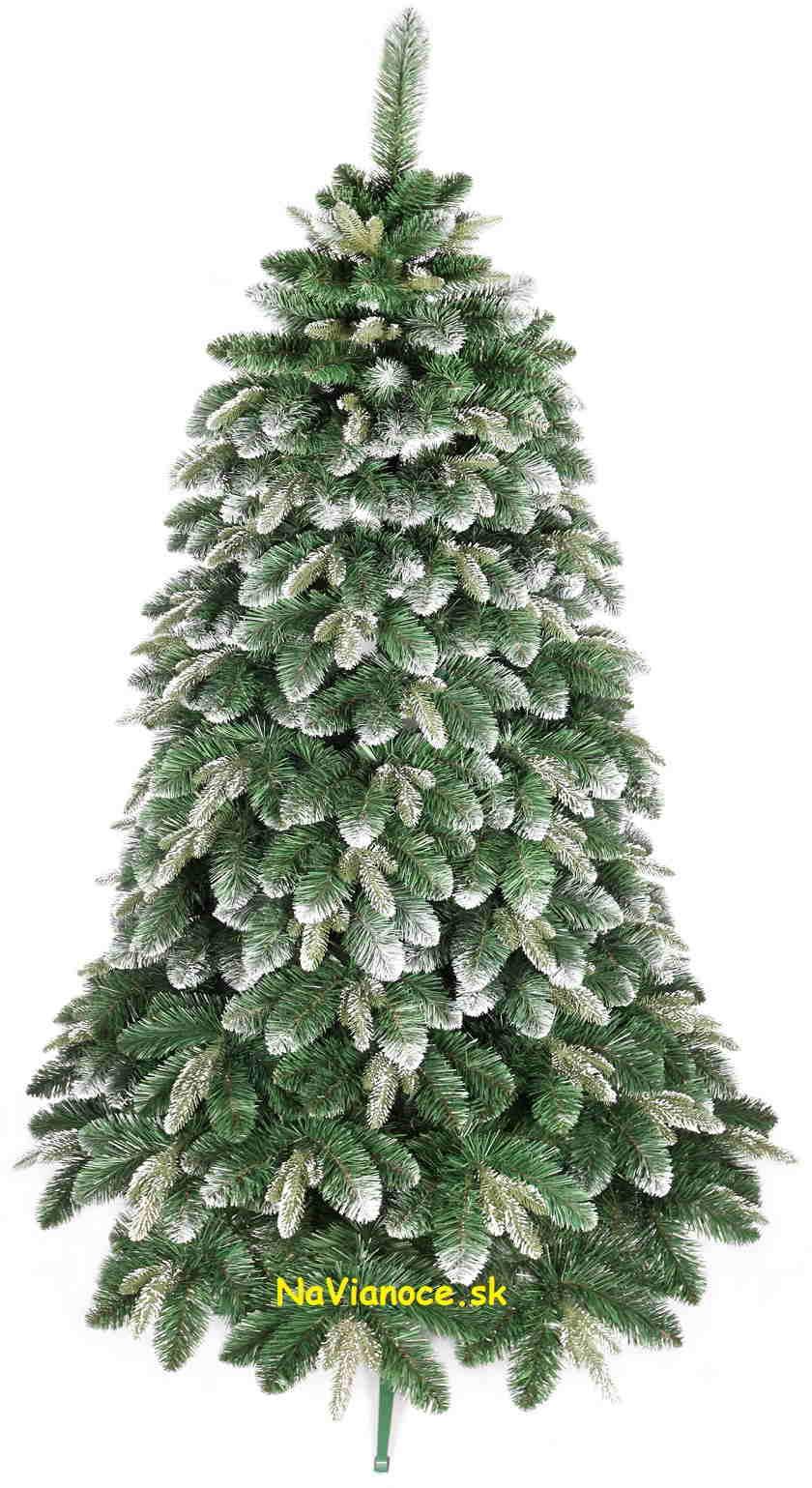 3d zasnežený vianočný stromček
