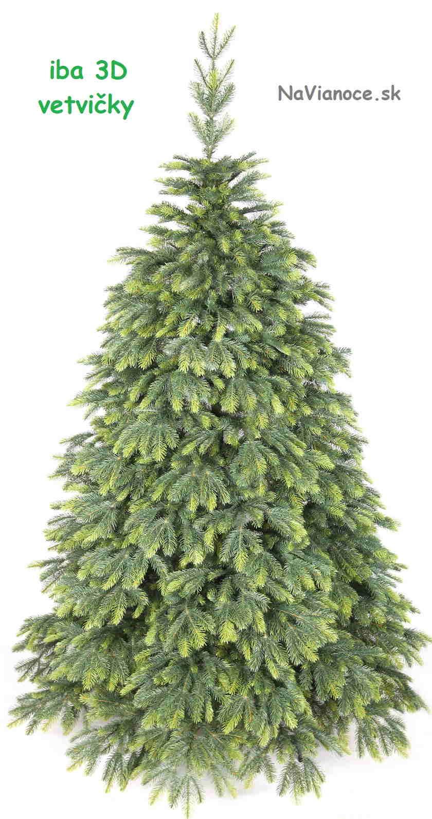 celé 3d vianočné stromčeky