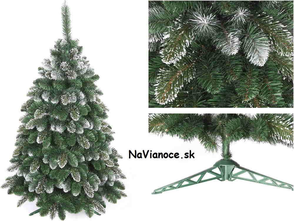 klasický vianočný stromček biela borovica