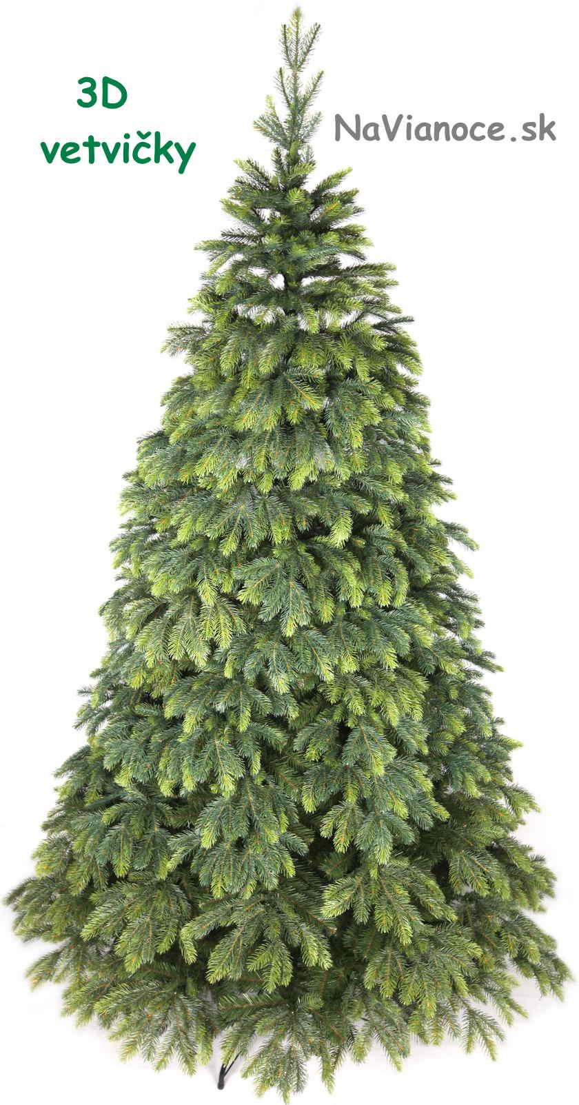 veľký vianočný stromček jedľa