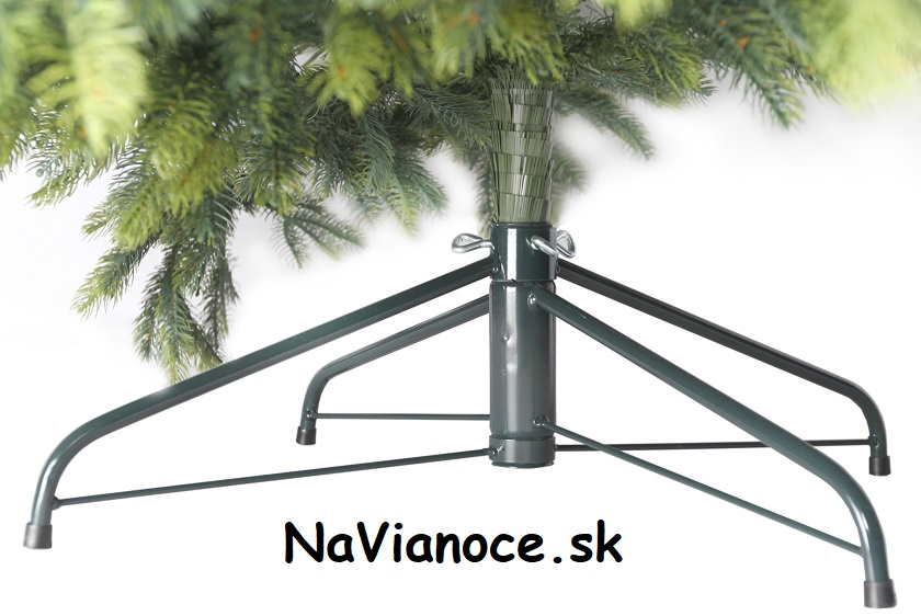 vianočný kovový stojan