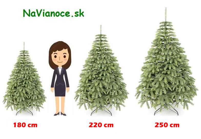 správny výber výšky umelého vianočného stromčeka
