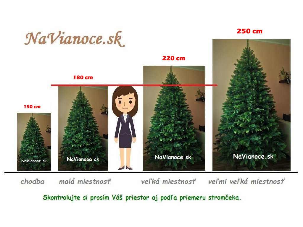 vysoké a veľke umelé 3d vianočné stromčeky
