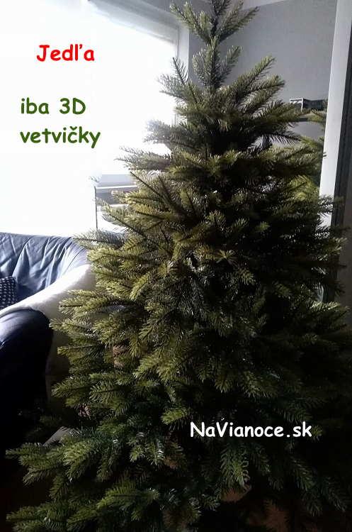 male-vianocne-stromceky-150-cm-3d-ihlicie