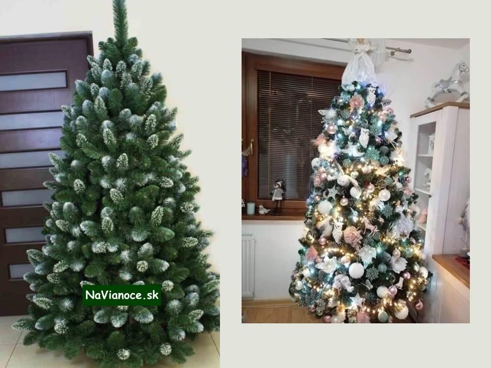 umely-vianocny-stromcek-so-snehom