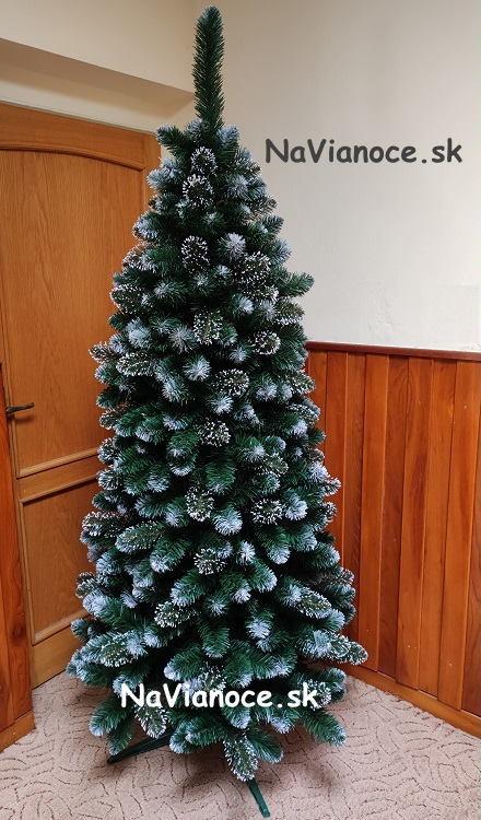 moderny-umely-snehovy-vianocny-stromcek-zasnezeny-biela-Tuja-uzky