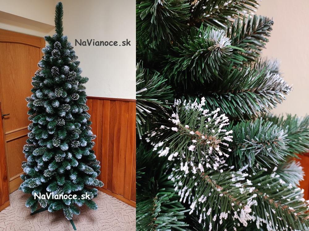 umely-snehovy-uzky-vianocny-stromcek-zasnezeny-biely