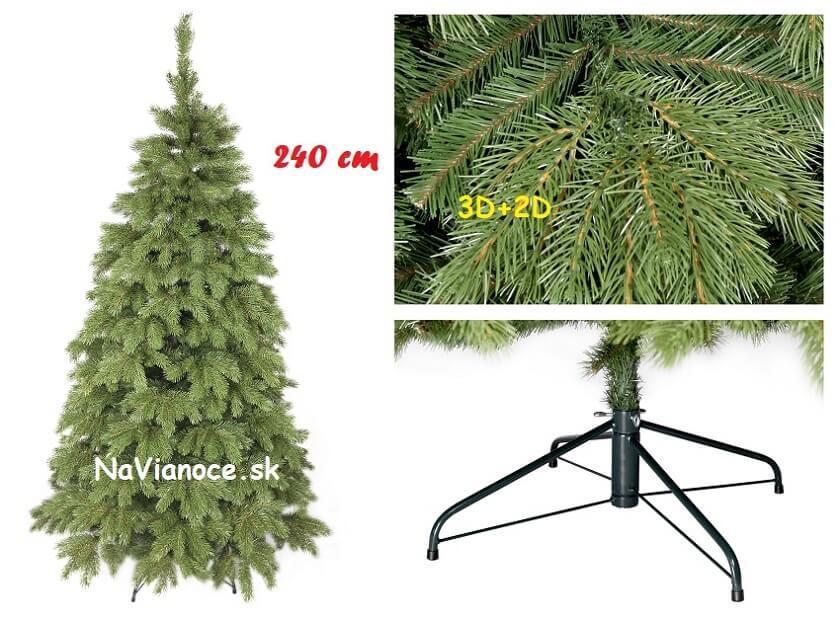 vianočný stromček 240 cm