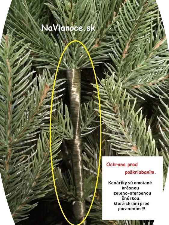starostlivosť o vianočné stromčeky umelé