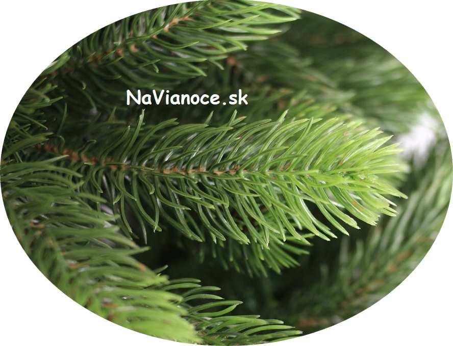 umelé vianočné stromčeky 3d ihličie husté
