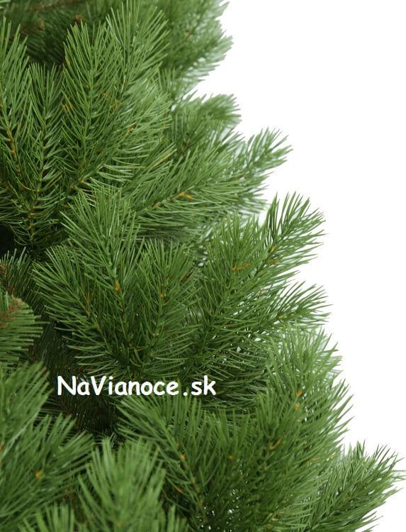 umelý vianočný stromček s 3d ihličím