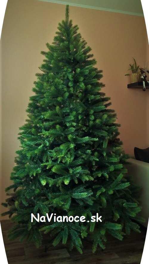 umelý hustý vysoký vianočný stromček