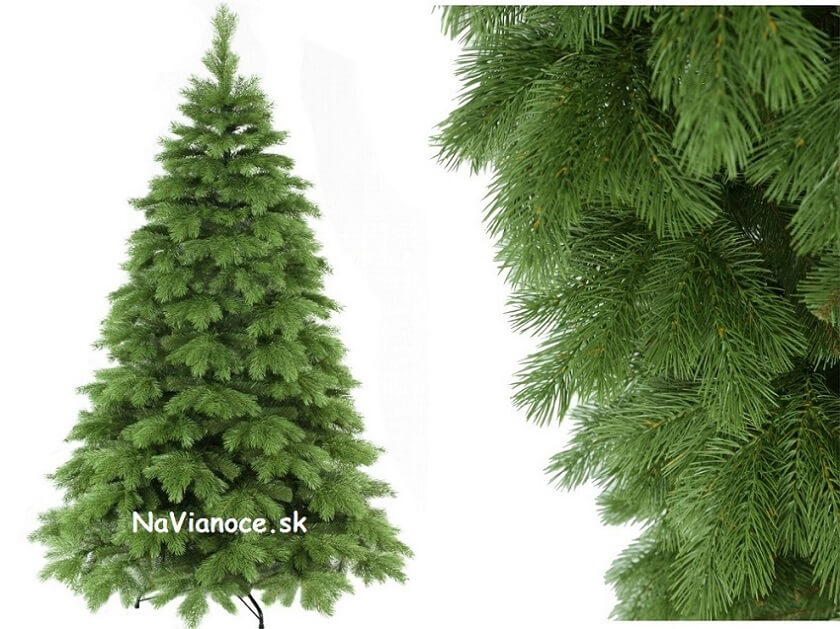 vianočný stromček full 3d ihličie