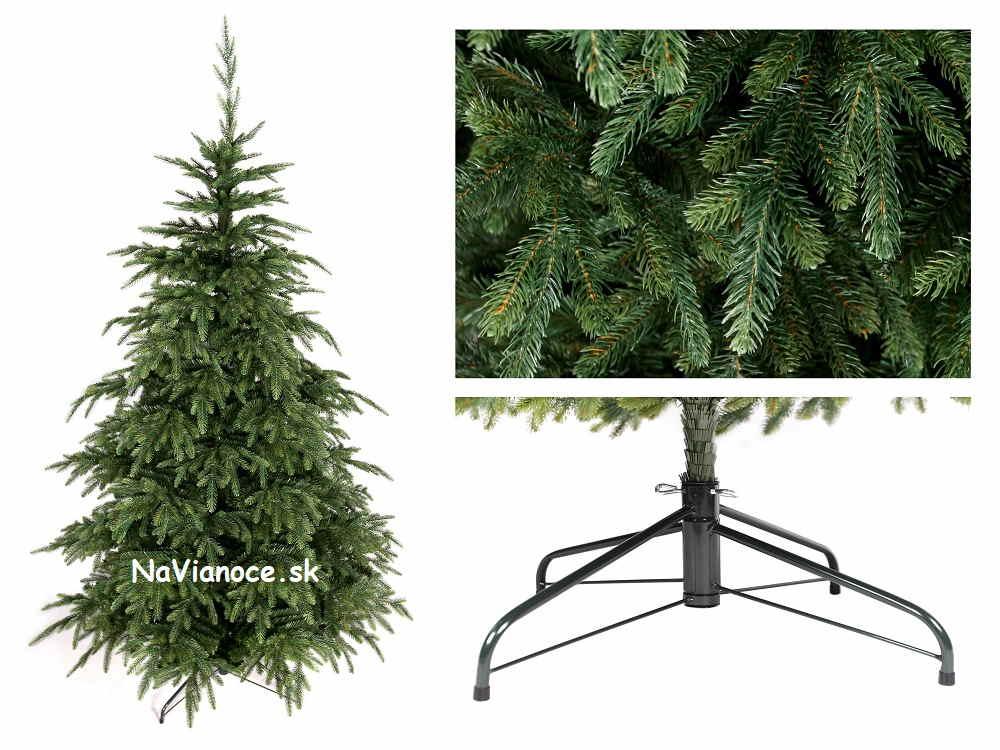 vianočný stromček nepravidelný tvar