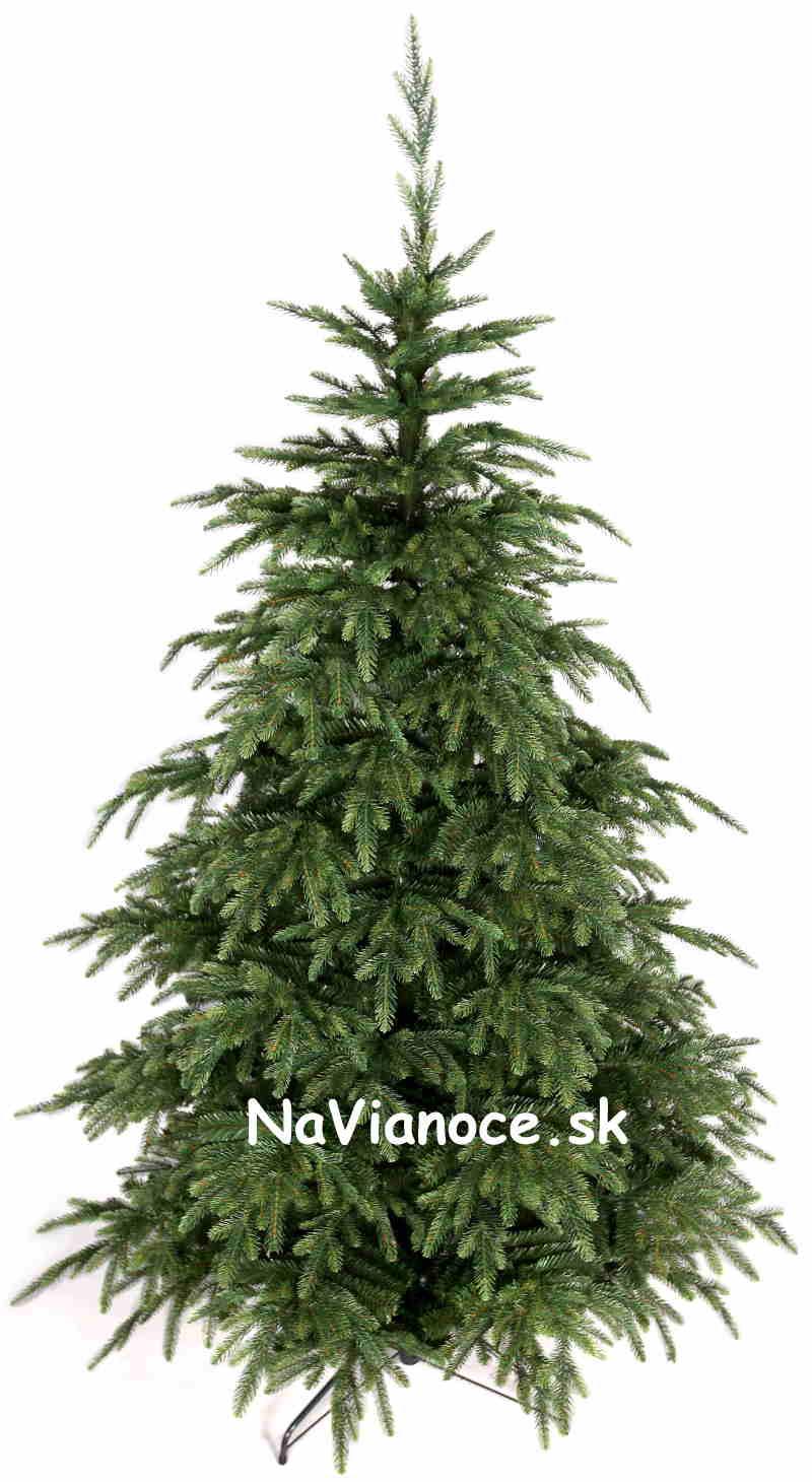 vianočný stromček nerovnomerný prírodný tvar