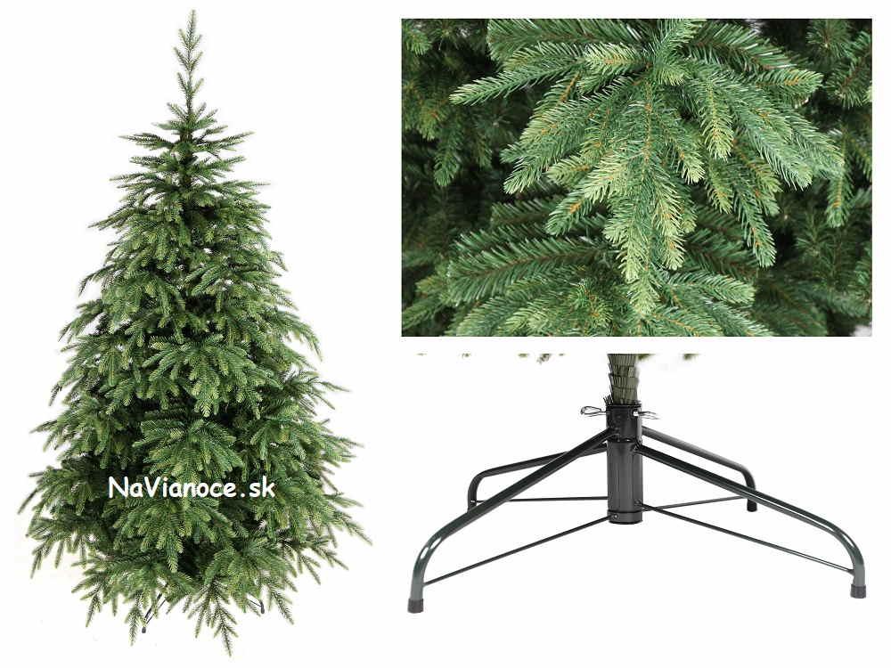 vianočný stromček rozmanitý tvar