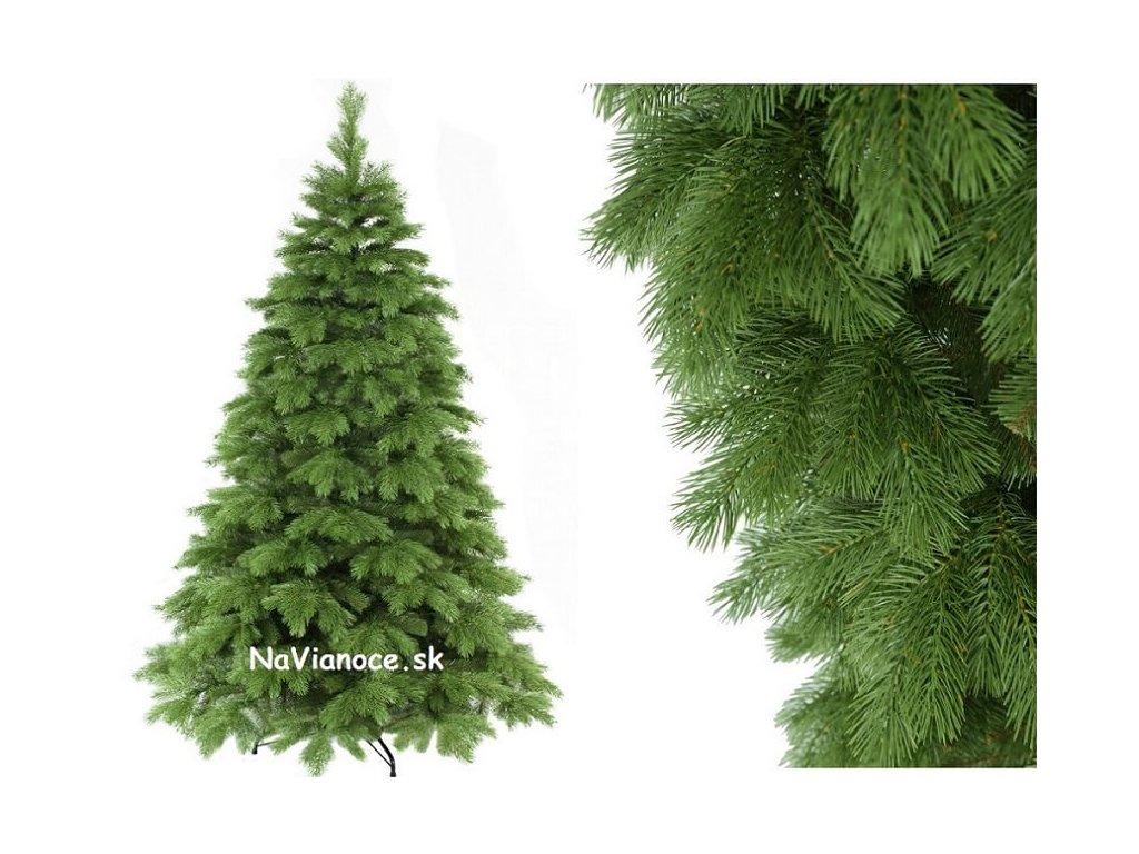 vianočný stromček borovica 3D ihličie