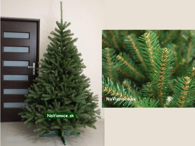 vianočné stromčeky smreky prírodné