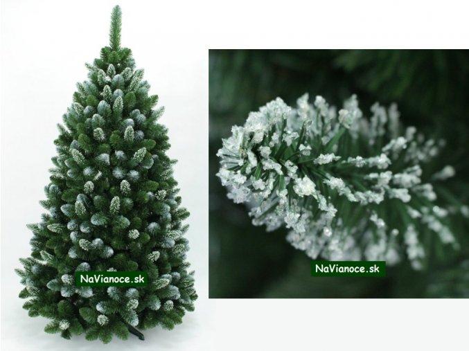 vianočný stromček biely