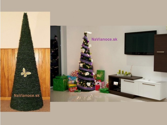 Kužeľový vianočný stromček Smrek