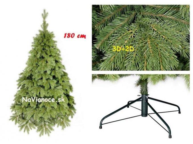 vianočný stromček borovica 3D