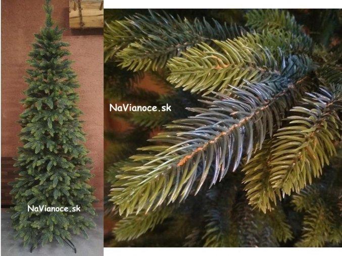 úzky vianočný stromček tuja 3d ihličie