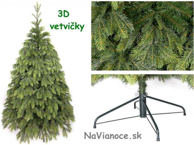 vianočný stromček jedľa reálna