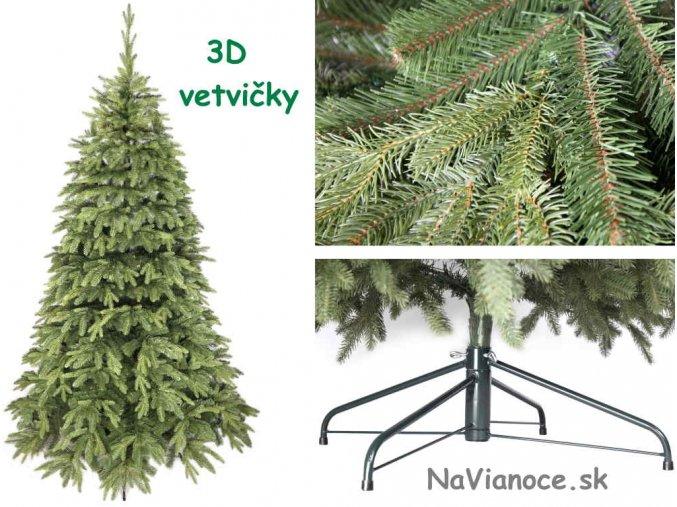 vysoké 3d vianočné stromčeky
