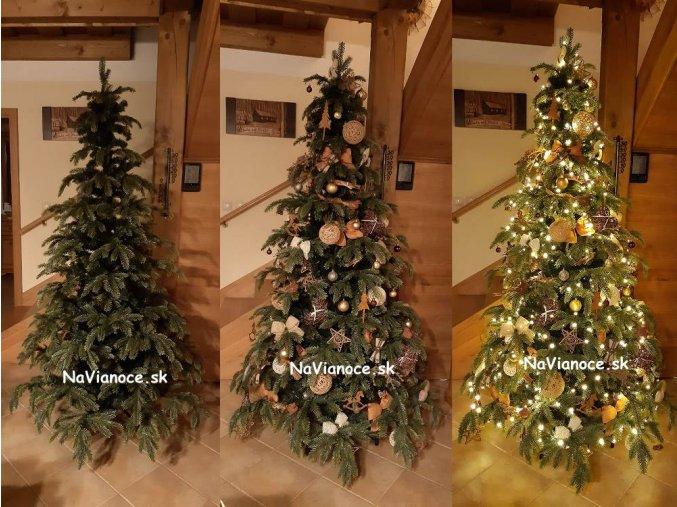 umely vianocny stromcek jedla 3d