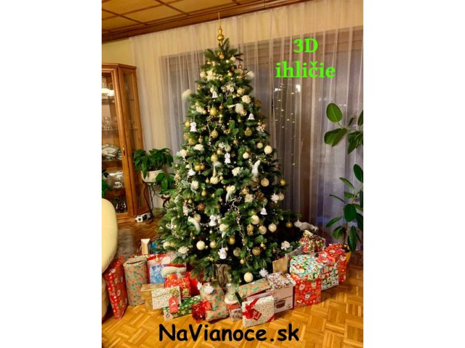 pekny kvalitny husty umely vianocny stromcek Vianoce