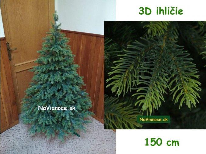 exkluzivny maly umely vianocny stromcek 150 cm